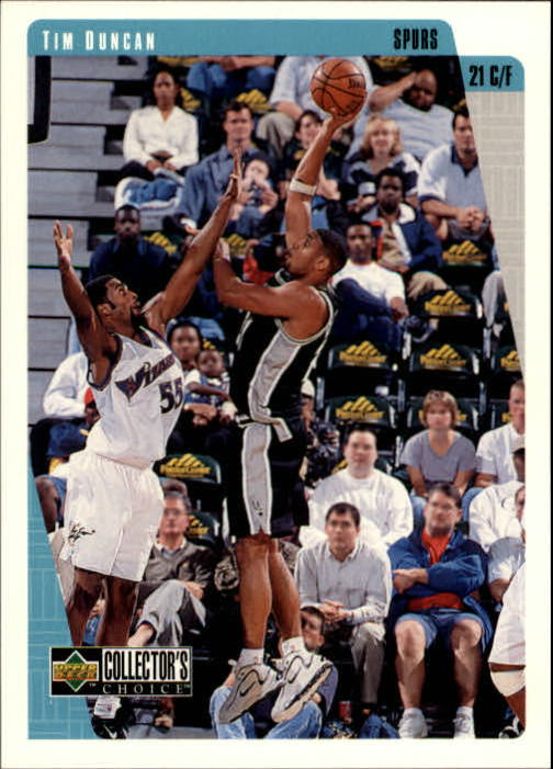 1997-98 Collector's Choice #323 Tim Duncan RC
