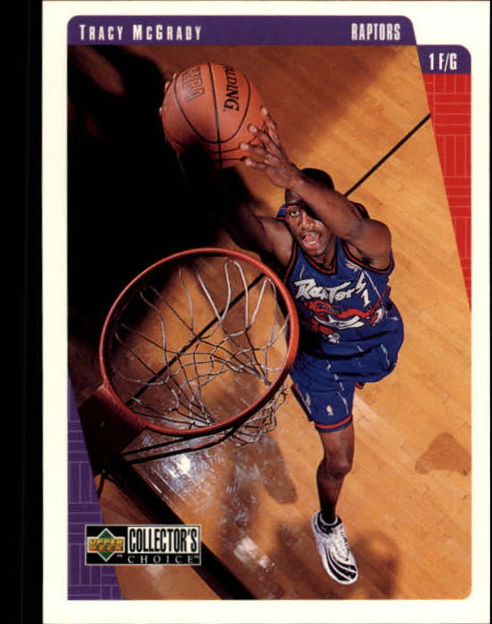 1997-98 Collector's Choice #335 Tracy McGrady RC