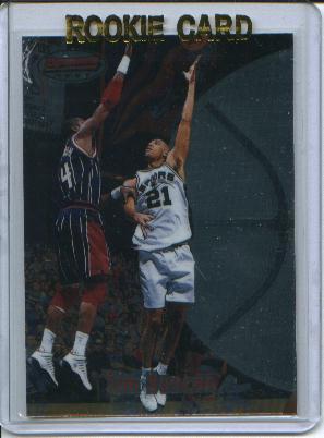 1997-98 Bowman's Best #106 Tim Duncan RC