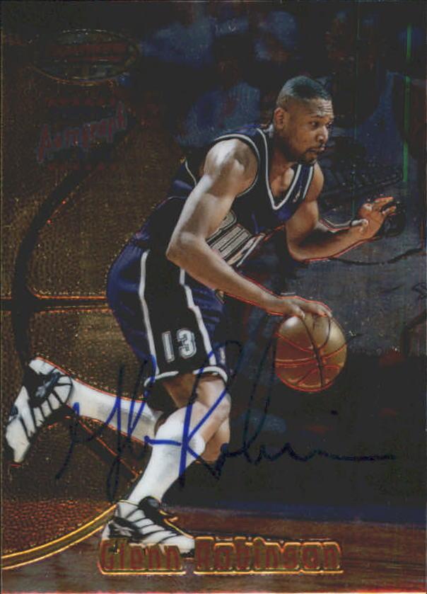 1997-98 Bowman's Best Autographs #8 Glenn Robinson