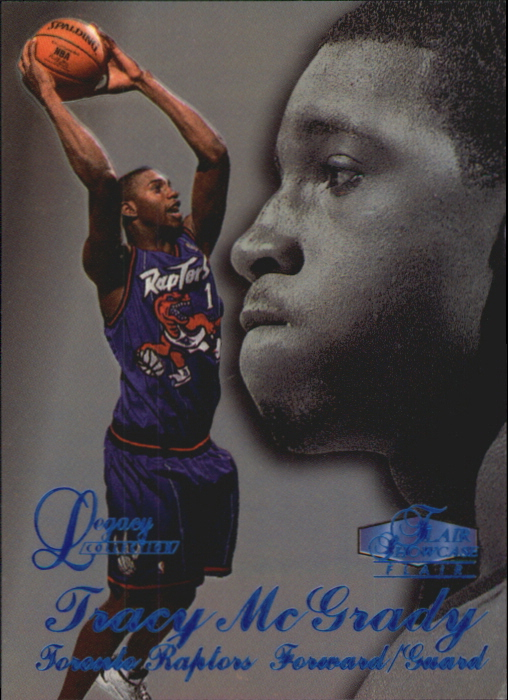 1997-98 Flair Showcase Legacy Collection Row 3 #21 Tracy McGrady