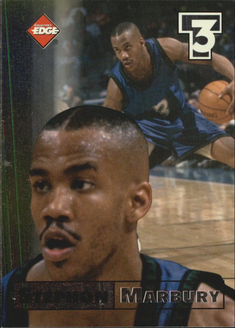 1998 Collector's Edge Impulse T3 #6 Stephon Marbury S