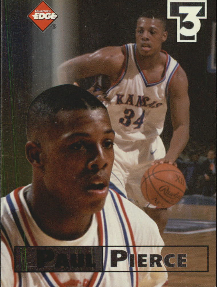 1998 Collector's Edge Impulse T3 #7 Paul Pierce S