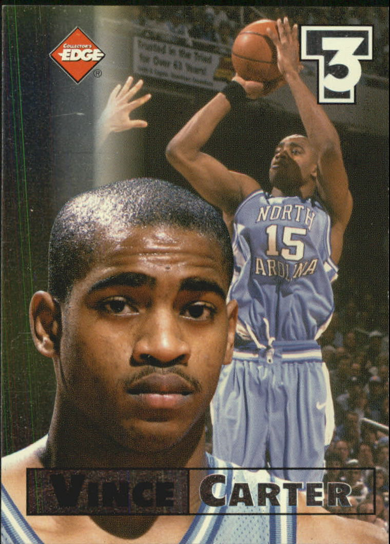 1998 Collector's Edge Impulse T3 #8 Vince Carter S