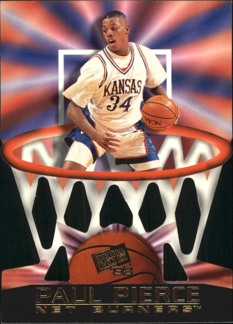 1998 Press Pass Net Burners #5 Paul Pierce