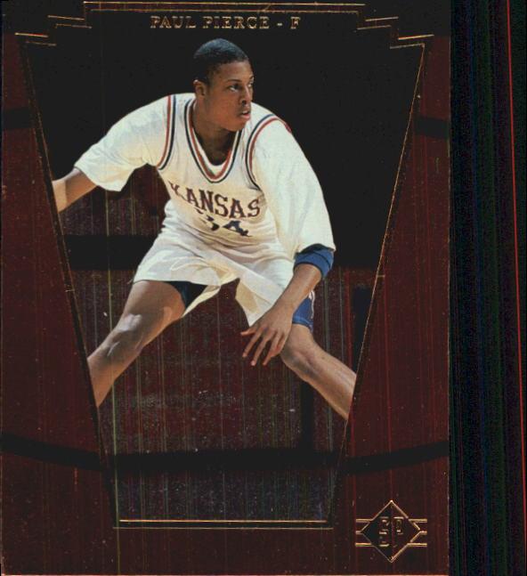 1998 SP Top Prospects #4 Paul Pierce