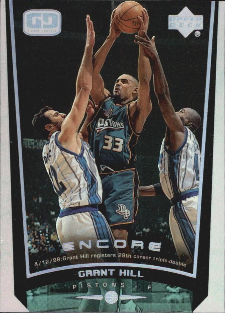 1998-99 Upper Deck Encore #22 Grant Hill