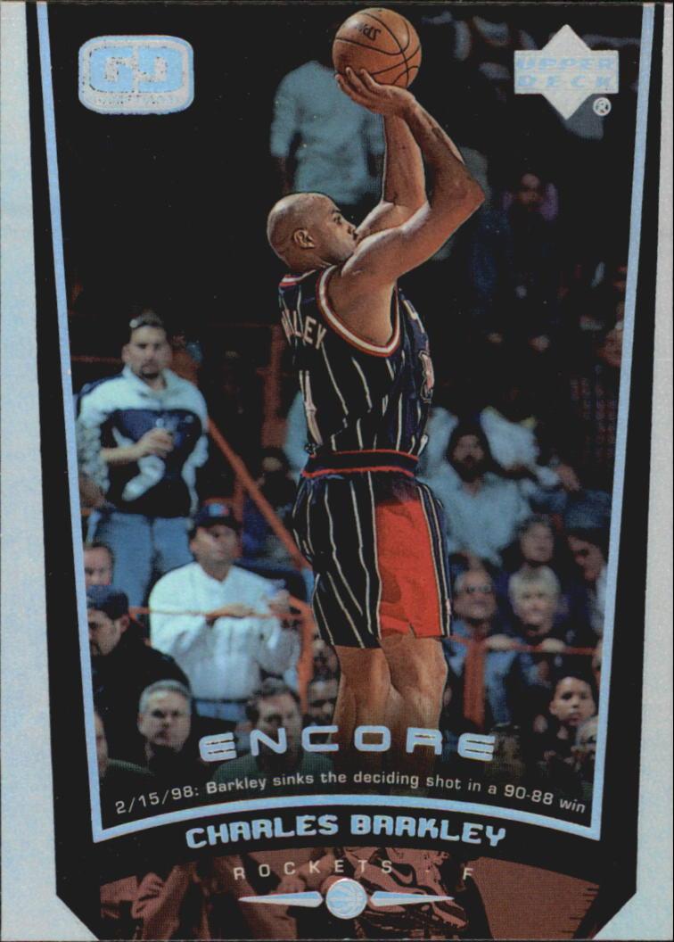 1998-99 Upper Deck Encore #29 Charles Barkley