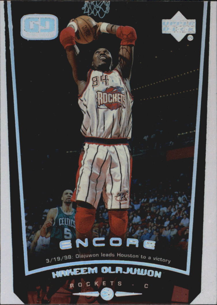 1998-99 Upper Deck Encore #30 Hakeem Olajuwon