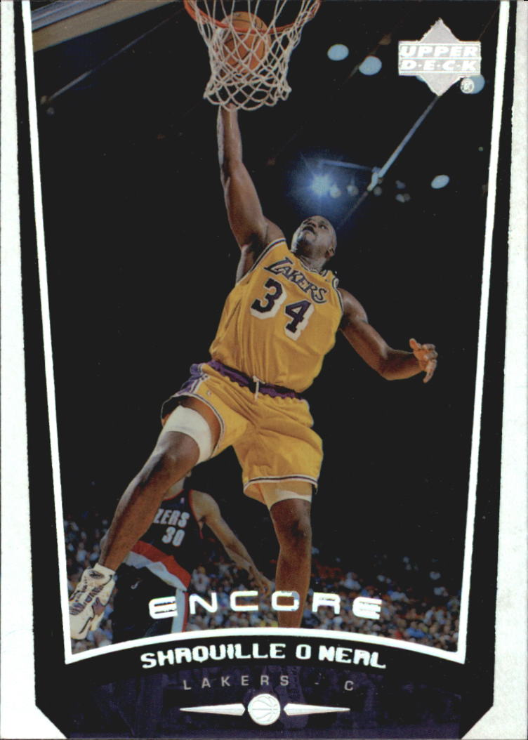 1998-99 Upper Deck Encore #40 Shaquillie O'Neal