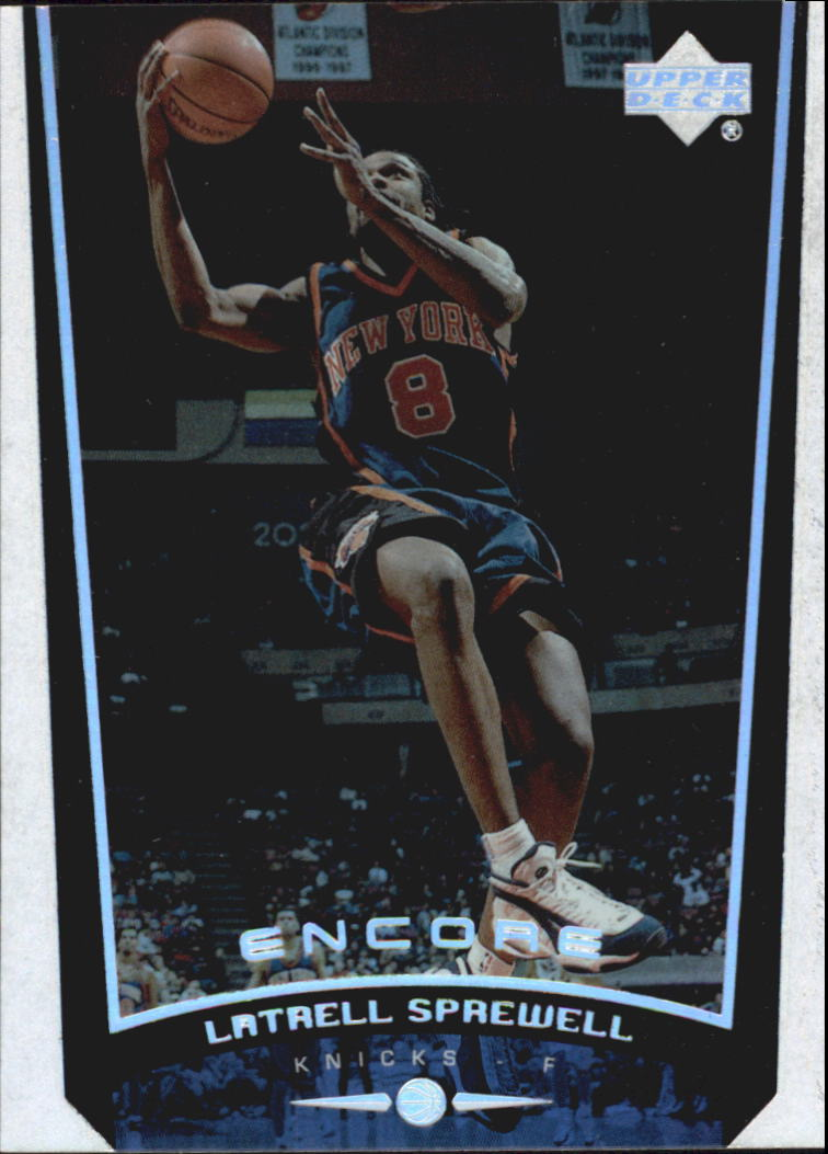 1998-99 Upper Deck Encore #57 Latrell Sprewell