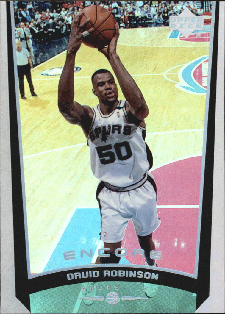 1998-99 Upper Deck Encore #75 David Robinson