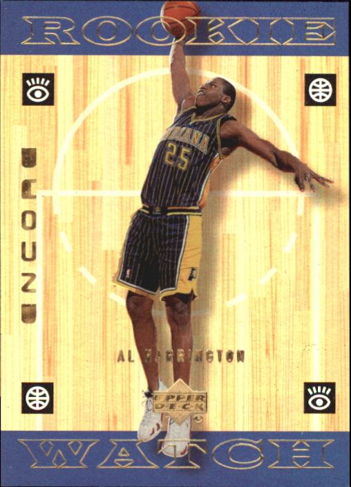 1998-99 Upper Deck Encore F/X #134 Al Harrington