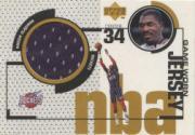 1998-99 Upper Deck Game Jerseys #GJ25 Hakeem Olajuwon