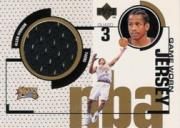 1998-99 Upper Deck Game Jerseys #GJ35 Allen Iverson