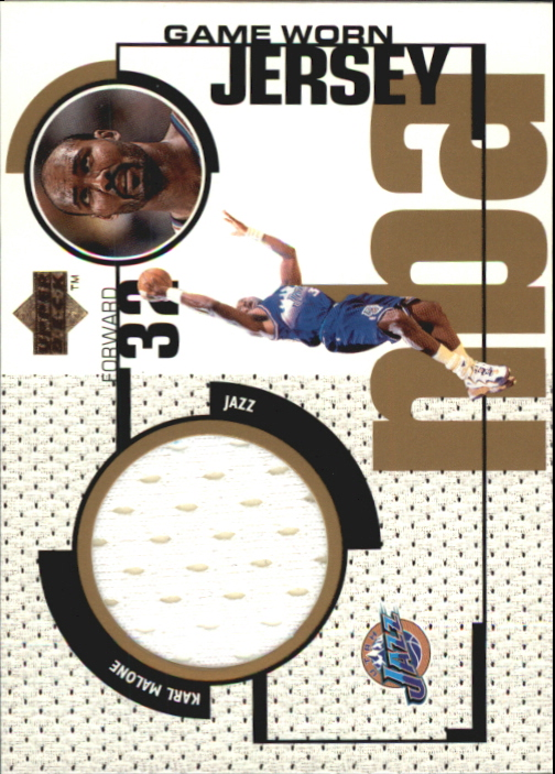 1998-99 Upper Deck Game Jerseys #GJ37 Karl Malone