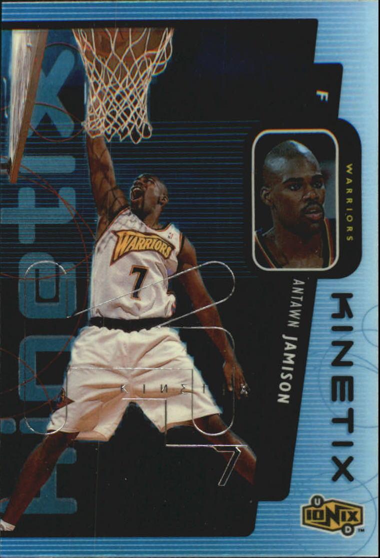1998-99 UD Ionix Kinetix #K12 Antawn Jamison