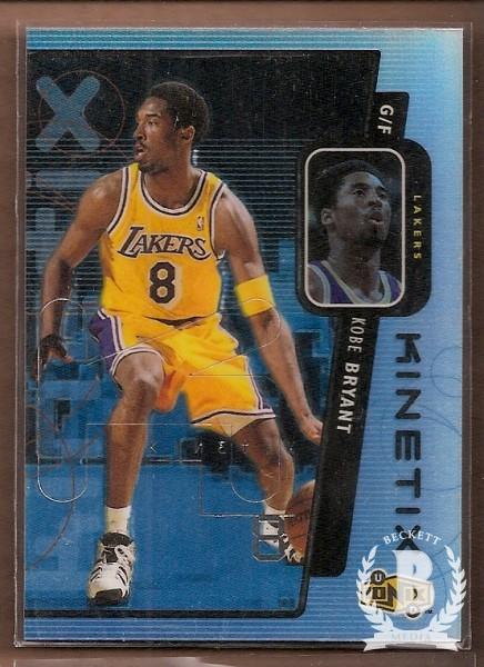 1998-99 UD Ionix Kinetix #K13 Kobe Bryant