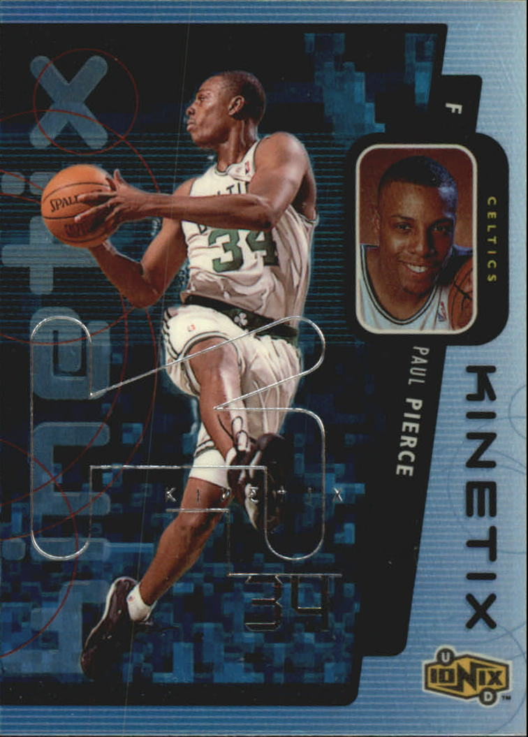 1998-99 UD Ionix Kinetix #K18 Paul Pierce