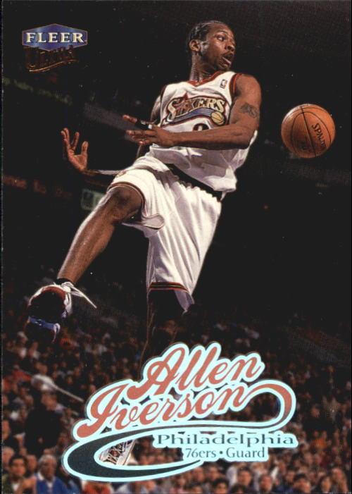1998-99 Ultra #33 Allen Iverson