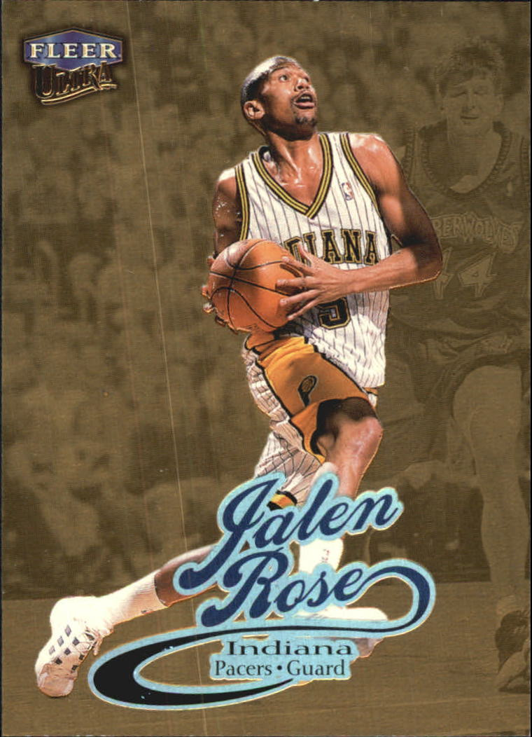 19230616827 1998-99 Ultra Gold Medallion  12G Jalen Rose