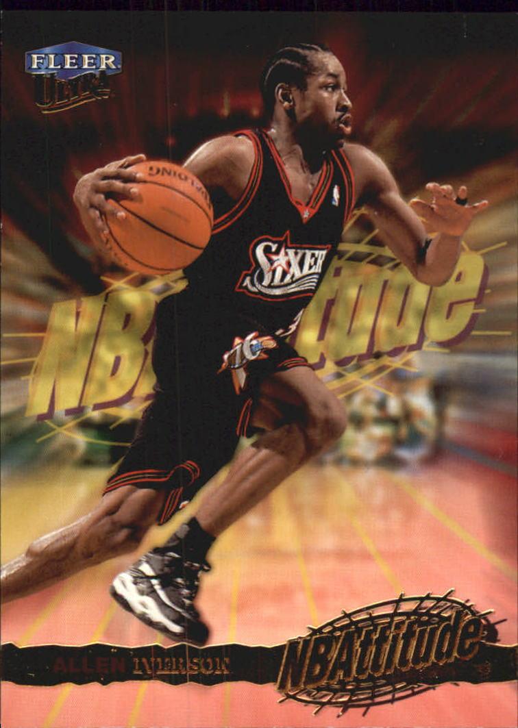1998-99 Ultra NBAttitude #1 Allen Iverson