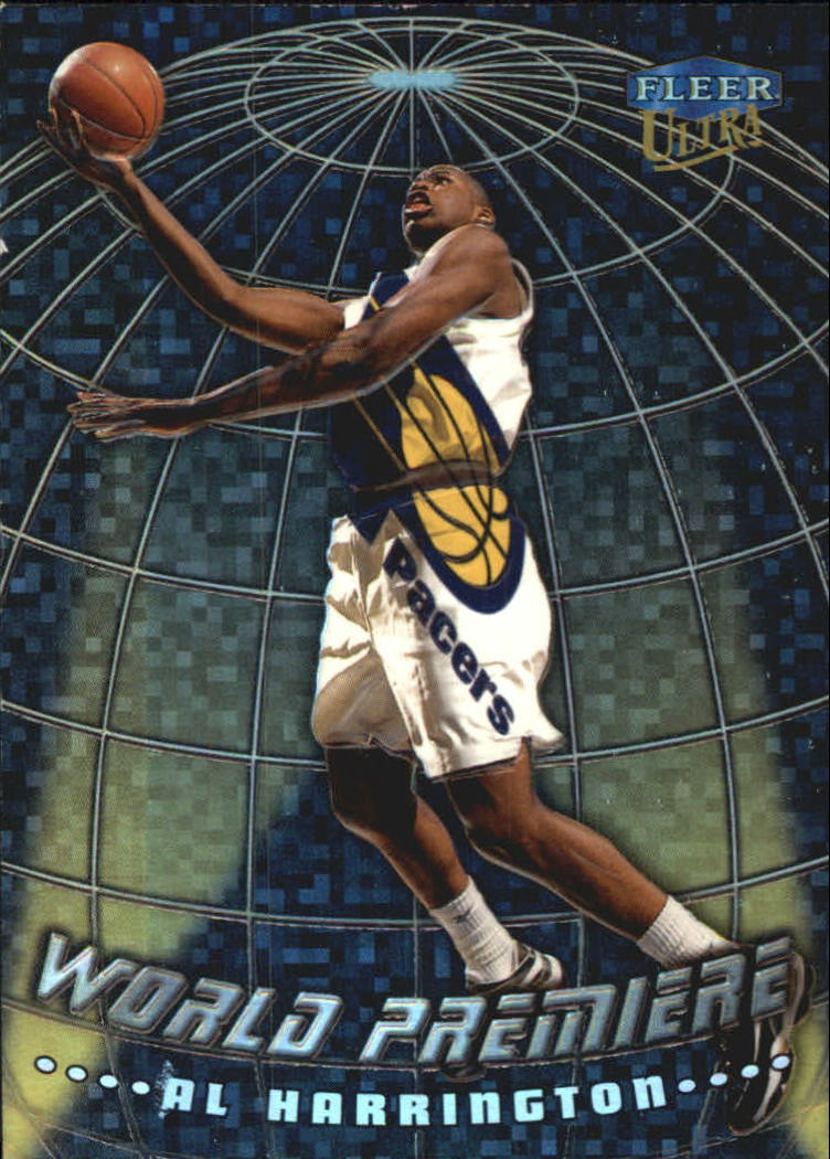 1998-99 Ultra World Premiere #8 Al Harrington