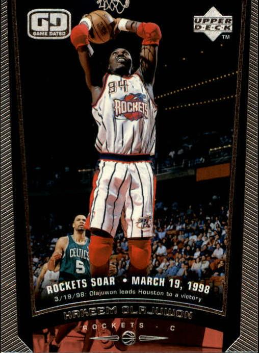 1998-99 Upper Deck #59 Hakeem Olajuwon