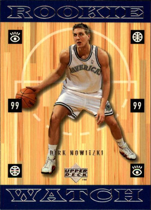 1998-99 Upper Deck #320 Dirk Nowitzki RC