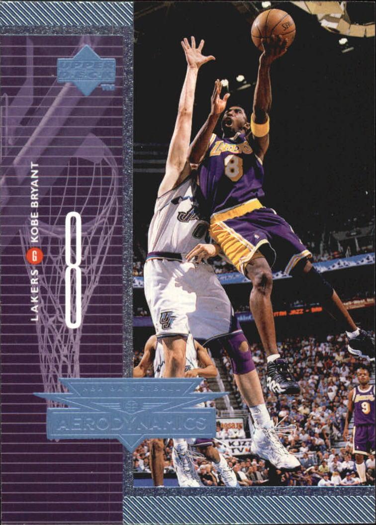 1998-99 Upper Deck AeroDynamics #A14 Kobe Bryant