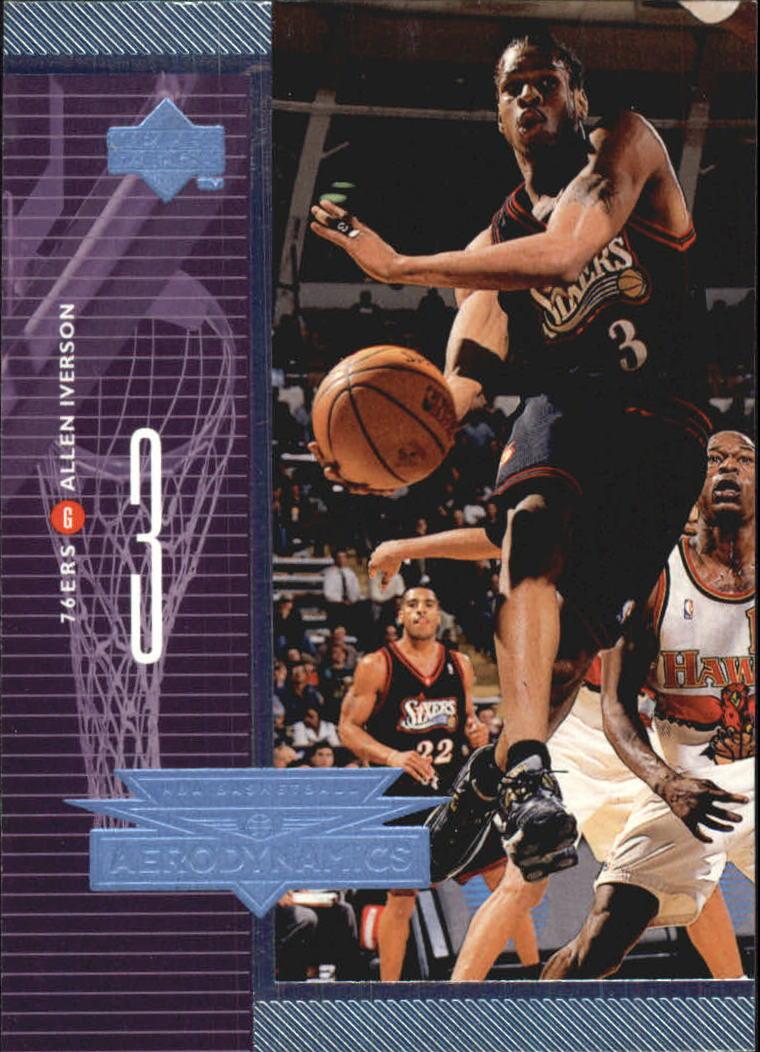1998-99 Upper Deck AeroDynamics #A27 Allen Iverson
