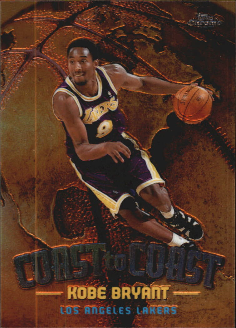 1998-99 Topps Chrome Coast to Coast #CC1 Kobe Bryant