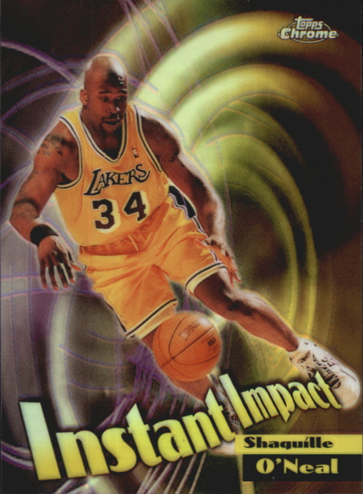 1998-99 Topps Chrome Instant Impact #I5 Shaquille O'Neal