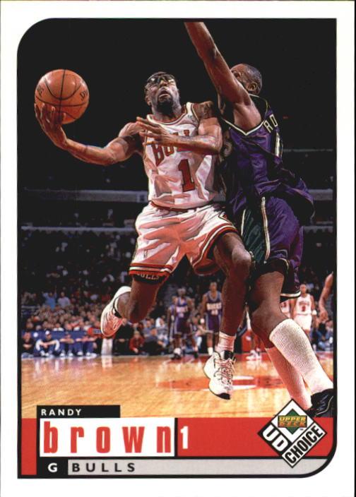 1998-99 UD Choice #19 Randy Brown