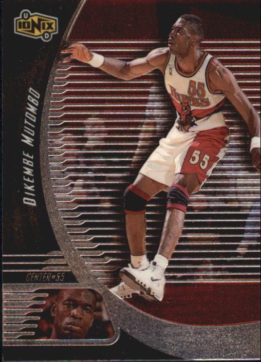 1998-99 UD Ionix #8 Dikembe Mutombo