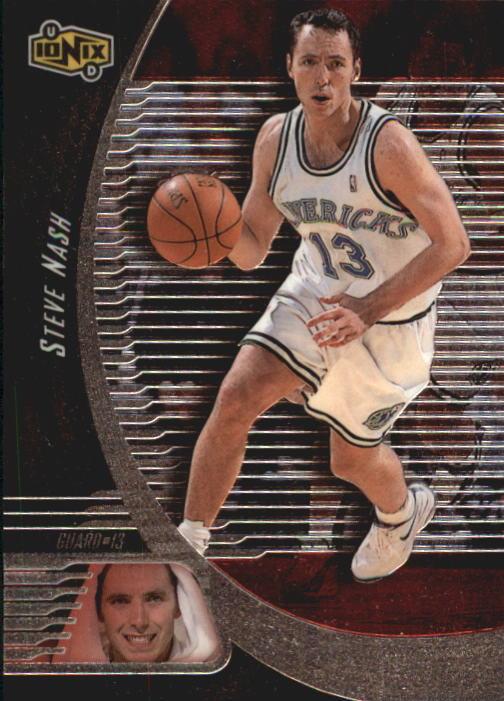 1998-99 UD Ionix #18 Steve Nash