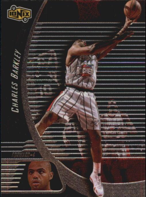 1998-99 UD Ionix #25 Charles Barkley