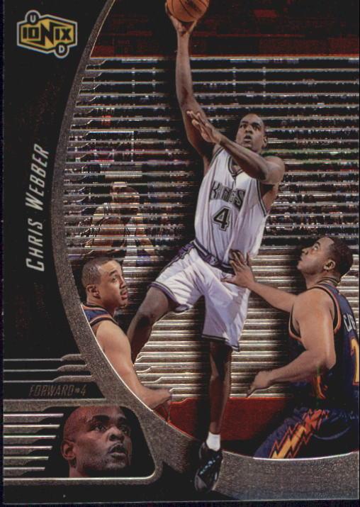 1998-99 UD Ionix #50 Chris Webber