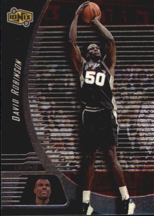 1998-99 UD Ionix #52 David Robinson