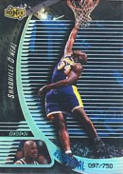 1998-99 UD Ionix Reciprocal #R32 Shaquille O'Neal