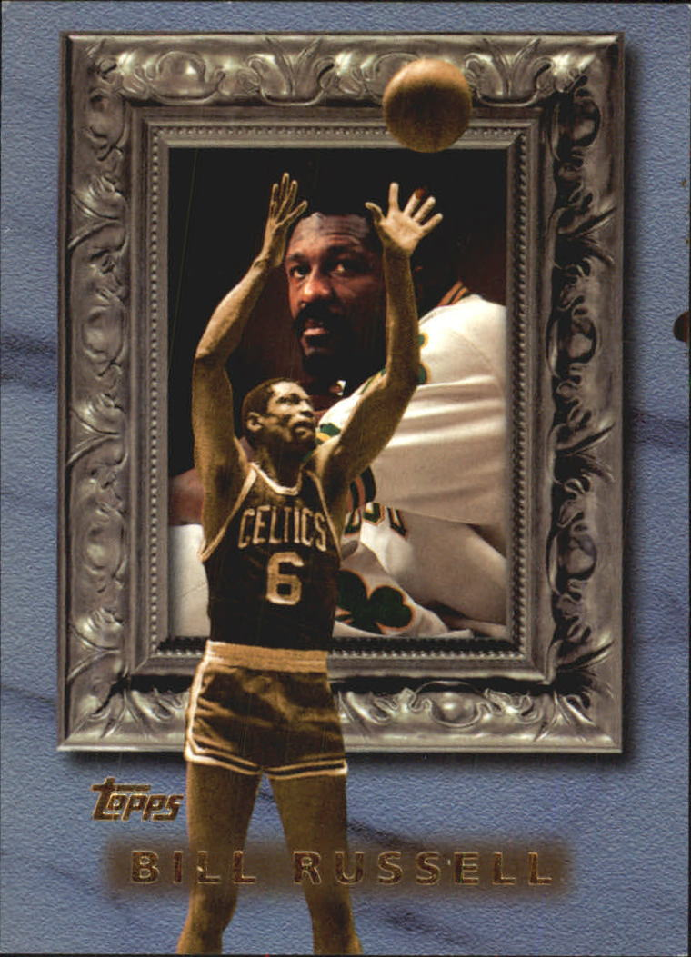 1998-99 Topps Classic Collection #CL5 Bill Russell