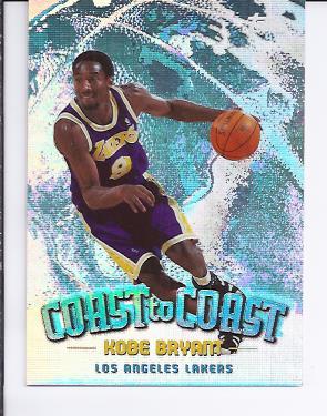 1998-99 Topps Coast to Coast #CC1 Kobe Bryant