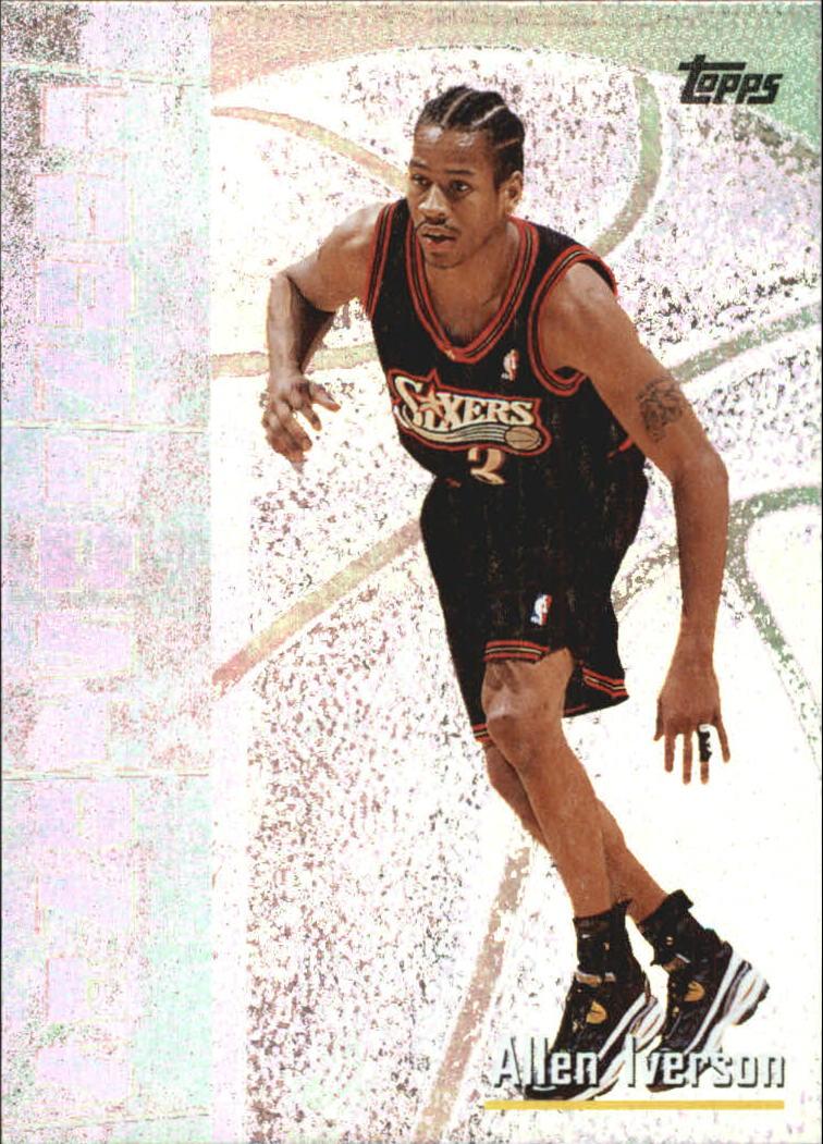 1998-99 Topps Cornerstones #C5 Allen Iverson