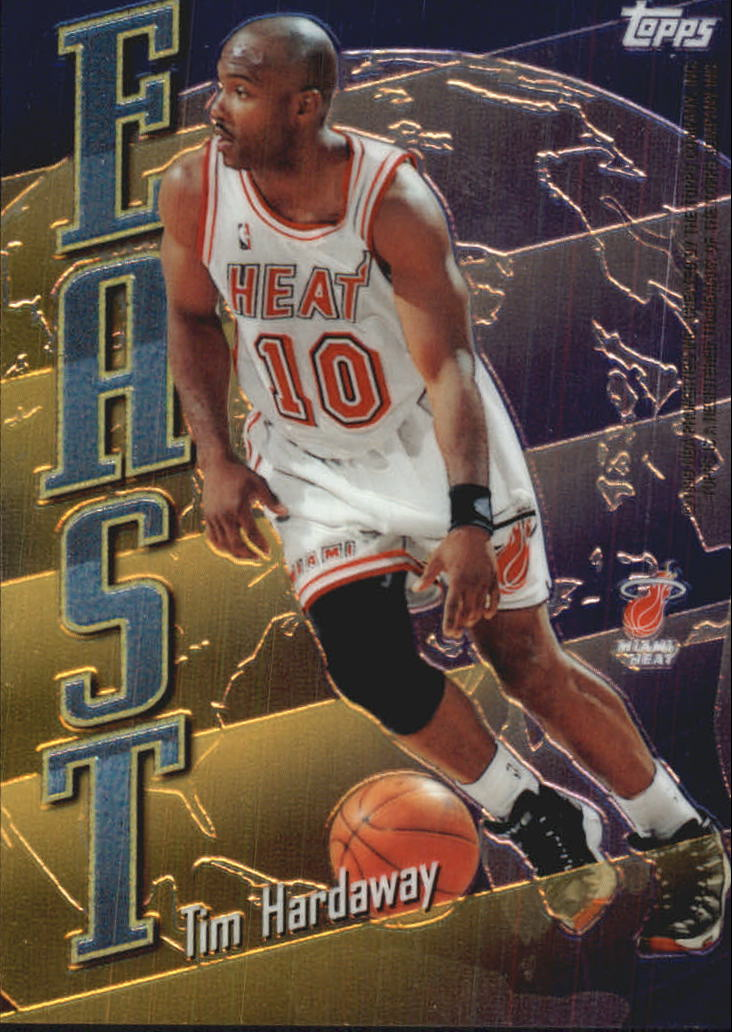 1998-99 Topps East/West #EW3 Tim Hardaway/John Stockton