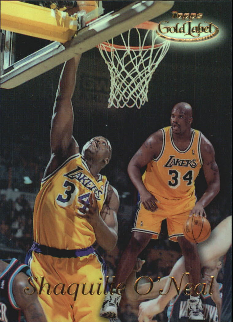 1998-99 Topps Gold Label #GL2 Shaquille O'Neal