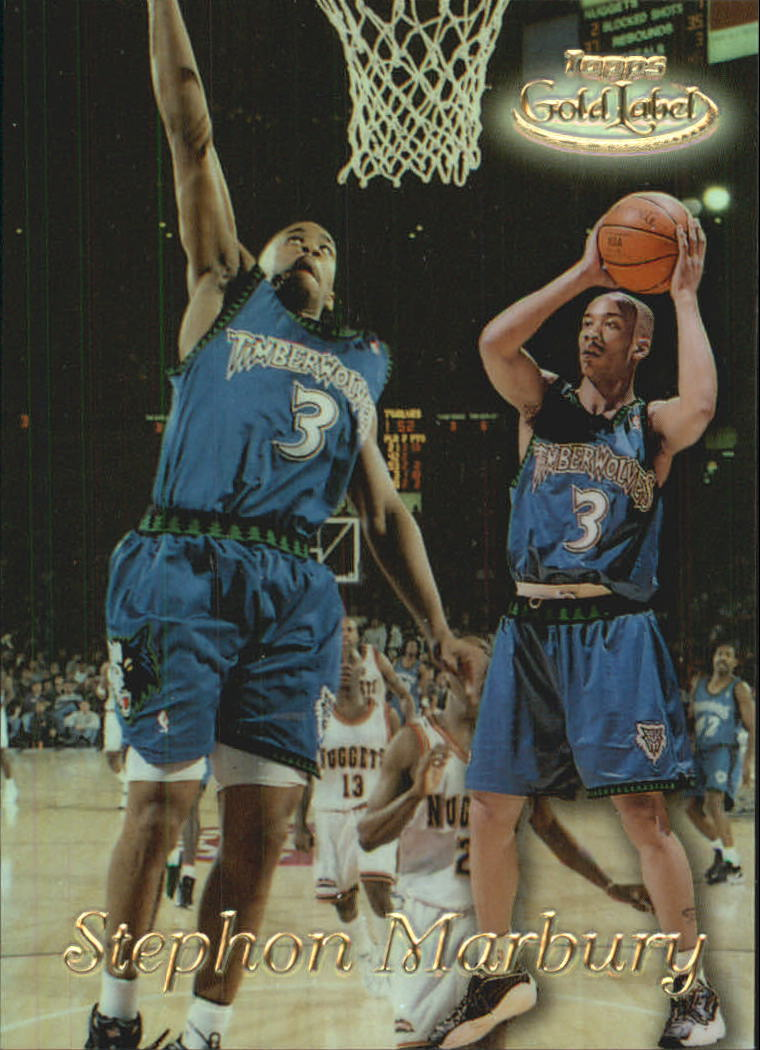 1998-99 Topps Gold Label #GL8 Stephon Marbury