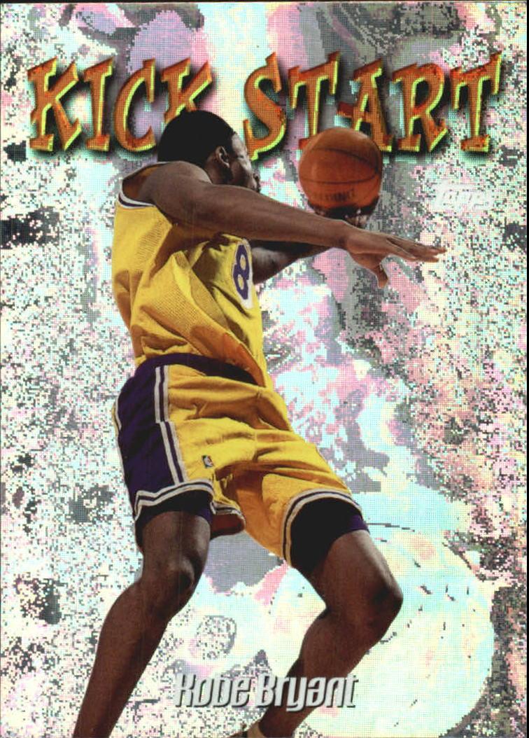 1998-99 Topps Kick Start #KS2 Kobe Bryant
