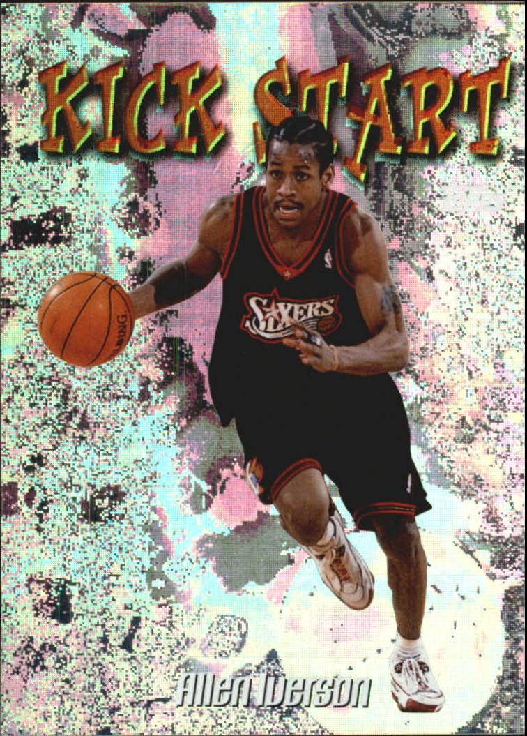 1998-99 Topps Kick Start #KS5 Allen Iverson