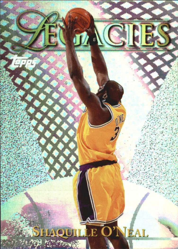1998-99 Topps Legacies #L5 Shaquille O'Neal