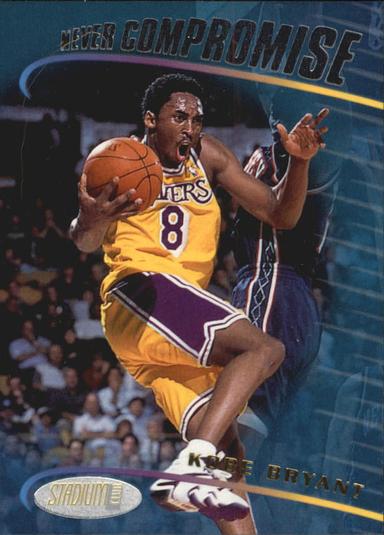 1998-99 Stadium Club Never Compromise #NC2 Kobe Bryant